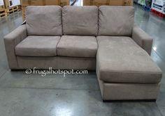 Pulaski Furniture Fabric Sofa Chaise. #Costco #FrugalHotspot