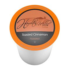 Hamilton Mills Toasted Cinnamon, Single-Cup coffee for Keurig K-Cup Brewers, 40 Count *** You can get additional details at the image link. #SingleServeCoffeeCapsules