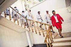 Make sure to capture the entrance of the groomsmen too. | 18 Glorious Ideas For Groomsmen Photos