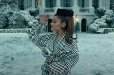 Ariana Grande Cute, Ariana Grande Photoshoot, Ariana Grande Pictures, Selena Taylor, Houndstooth Coat, Ariana Grande Wallpaper, Dangerous Woman, Queen, Veronica