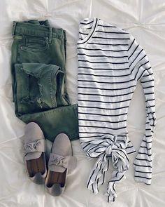Tied stripes