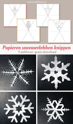 Exceptional Patterns for reducing snowflakes Distinctive and Inventive Do you disco. Christmas Crafts For Kids To Make, Diy Crafts To Do, Diy For Kids, Christmas Diy, Christmas Decorations, Paper Crafts, Christmas Ornaments, Paper Snowflake Patterns, Paper Snowflakes