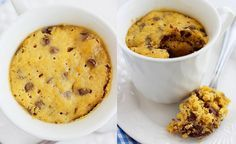 ¿Quieres preparar una galleta fácil, blandita, deliciosa y que además se hace en un minuto en el microondas? Si si, así de fácil. Pues hoy te damos la rece
