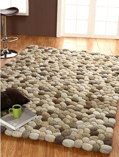 Cobblestone rug