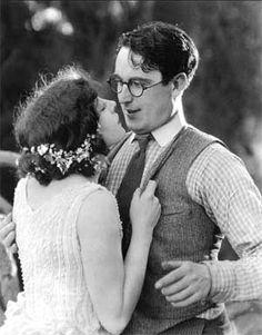 Harold Lloyd and Jobyna Ralston in Girl Shy, 1924.