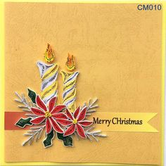 Items similar to Christmas Cards on Etsy Quilling Christmas, Christmas Crafts, Christmas Ornaments, Christmas Wreaths, Quilling Patterns, Quilling Designs, Quilling Ideas, Quilling Cards, Paper Quilling