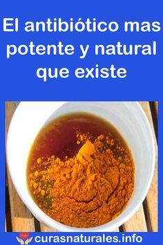 El antibiótico mas potente y natural que existe #potente #antibiótico #salud #remedios #bienestar #curasnaturales