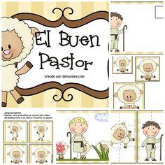 recursos cristianos, niños, escuela dominical, lecciones, devocionales, Buen pastor, parábolas, ovejas