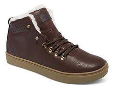 Oferta: 99.95€. Comprar Ofertas de Quiksilver Jax Deluxe - Zapatos de cordones para niños, Marrón, 42 barato. ¡Mira las ofertas!