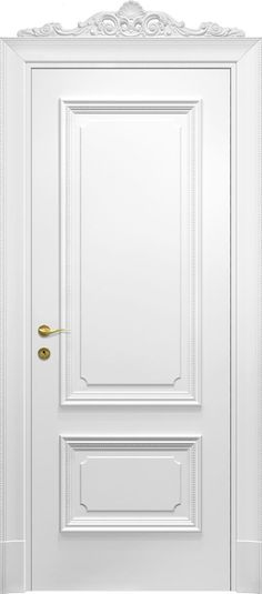 Interior doors Imperiale color Laccato (painted) - New Deko Sites Half Doors, Windows And Doors, Home Room Design, House Design, Classic Doors, Modern Front Door, Bedroom Doors, Floor Finishes, Internal Doors