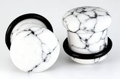 Top Hat WHITE PINE STONE Plug with Black Oring #stoneplugs #tunnels #plugs #painfulpleasures #stretchedears #bodyjewelry #stonejewelry #stonetunnels #piercings #gauged Nipple Rings, Belly Rings, Jewelry Tattoo, Body Jewelry, Jewellery, Painful Pleasures, Stone Plugs, Tunnels And Plugs, Types Of Stones