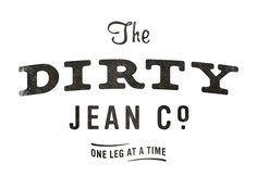 Design: Simon Walker.  The Dirty Jean Co. logo by super_furry, via Flickr