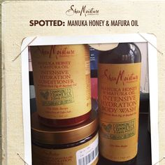 Spotted: Our Manuka Honey & Mafura Oil Community Commerce collection, available at Target in the Made to Matter section.