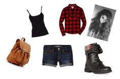 """Carolyn #1"" by ayalabethy ❤ liked on Polyvore featuring D&G, American Eagle Outfitters and DailyLook"