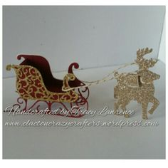 "3d ""Santa's sleigh"" 