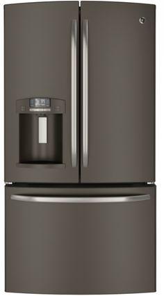slate no fingerprints wall oven pt7550ehes ge appliances get got countertop microwave. Black Bedroom Furniture Sets. Home Design Ideas