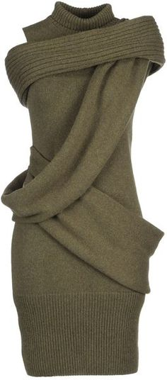 fendi 3/4 Length Dress