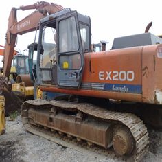Move the right control stick to the left to curl the digging bucket towards the excavator cab. You will find that operating large used hitachi excavator is an easy thing to you. Used Excavators, Komatsu Excavator, New Shows, Tractors, Bucket, Alternative, Buckets, Aquarius