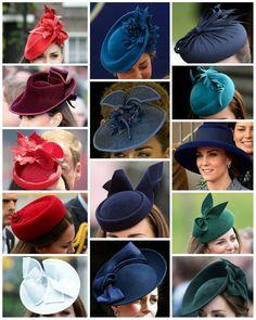 "1,071 Likes, 3 Comments -  Catherine elizabeth  (@_duchesskatemiddleton) on Instagram: ""The Duchess of Cambridge's hats / headpieces / fascinators we have seen since her marraige! [Part 3]"""