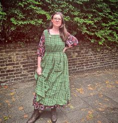What a great way to layer up your #cwapricotpinaforedress for the colder months by Rachel! #cocowawapatterns #apricotpinaforedress Pinafore Dress Pattern, Top Pattern, Sewing Patterns, Tops, Dresses, Fashion, Vestidos, Moda, Fashion Styles