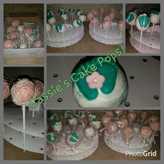 Baby Shower - Baby Feet!  Custom Orders Available!  Contact us for your next event!  www.cassiescakepops.com  cassiescakepop@gmail.com