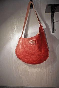 OLIVIA COUNTRY calf leather bag - borsa pelle via Etsy