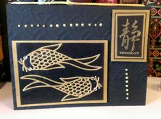 Maxam Made: Oriental Stamp Arts Yahoo Group  ... black and gold ... kkoi ...