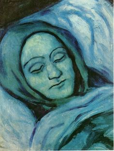 Picasso, Blue Period ~Repinned Via Bevy Hart