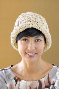 Free pattern - Cream Knit Hat. cute.