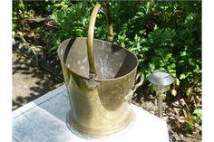 Coal Bucket Brass Antique