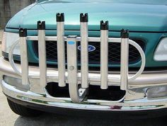 Rod Rack Hitch Mount 6 is for all around sportsmen who needs his bumper free to…