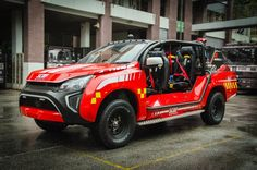 Hope Technik Reveals Another Car-Sized Firetruck Called Red Rhino | automotive99.com