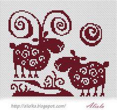 Мои творилки *** Aliolka design: овца