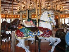 carousel horse by TooFarNorth, via Flickr