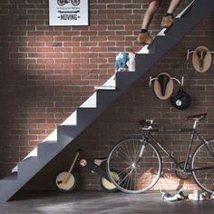 Plaquette de parement béton brique Atelier | Leroy Merlin