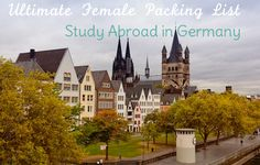 Ultimate Female Packing List for Study Abroad in Germany - Her Packing List