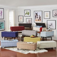 INSPIRE Q St Ives Lift Top Tufted Storage Bench | Overstock.com Shopping - The Best Deals on Ottomans