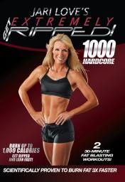 Jari Love's Extremely Ripped 1000 Hard Core. I bought this. I have done both P90X's and Les Mills Pump~great programs but expensive! I ordered Jari's and I was skeptical but need a change. They are AWESOME videos that will kick your butt in less time. You get weight and cardio training all in the same workout and feel spent when your done~and the price for this~$9.99-$14.99. CRAZY! She was in the top 10 in Fitness magazine.