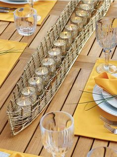 More than 6 feet in length, this gorgeous, hand-crafted Boat Candle Holder makes dramatic ornamentation for a dining table or console.