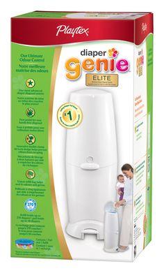 Playtex® Diaper Genie II Elite™ Advanced Diaper Disposal System at Walmart.ca