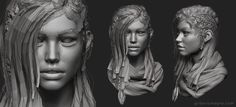 Real time character! It was rendered in Marmoset Toolbag 3. I did this project to study some techniques and to play with the new features of Toolbag 3. Hope you like it!