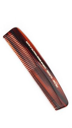 Father's Day Gift Idea: Who doesn't need a pocket comb? Perfect to tame fly-aways, and always be looking sharp.