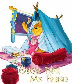 Glittering Good Night My Friends