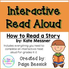 Interactive Read Aloud: How To Read a Story. Includes everything you need for 3 readings of this book. A planner, sticky note printables, reading connection worksheet and activity. Reading Strategies, Reading Activities, Teaching Reading, Reading Comprehension, Reading Aloud, Comprehension Strategies, Guided Reading, 5th Grade Teachers, Elementary Teacher