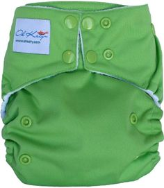 $17.95-$17.95 Baby Oh Katy one-size diapers are coveted for their trim fit, ease of use, and leak proof protection. Featuring a patented front-opening pocket design, ultra soft fleece, hip snaps for a sturdy fit on newborns and toddlers and gentle elastic to fit even the chubbiest thighs. No need for a waterproof bag, simply roll it up and use the crossover tabs to secure your neat bundle. Every ...