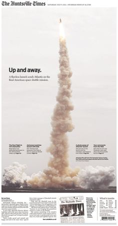 Up and away  #Newspaper #GraphicDesign
