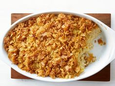 Kugel with Apricot Nectar recipe from Food Network Kitchen via Food Network