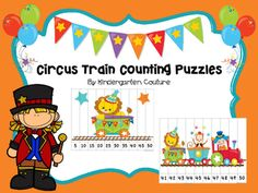 There are 8 colored counting puzzles in this pack.  Count by 5's to 50Count by 2's to 20Count by 10's to 100Count by 1's from 1 to 10, from 11-20, from 21-30, from 31-40 and from 41-50You will need to print (card stock works well), laminate, and cut into strips.