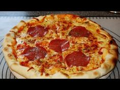 RECIPE: CHEESY CRUST PIZZA WITH BLITZ-DOUGH - YouTube