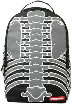Sprayground backpacks combine the best of art and pop culture with tech-centric accessory pockets and sleeves. Black And Grey, Gray, Black Backpack, Bag Accessories, Bones, Backpacks, Sewing, Wizards, Grey